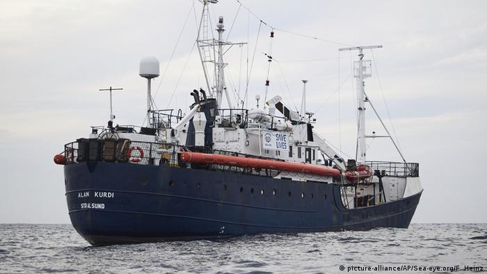 Yardım gemisi Alan Kurdi