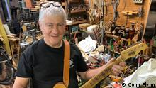 Rick Kelly, Guitarrenbauer, New York
