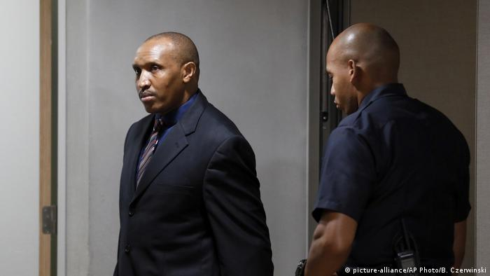 Niederlande Internationaler Gerichtshof Prozess Bosco Ntaganda Den Haag (picture-alliance/AP Photo/B. Czerwinski)