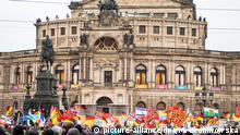 Dresden Sachsen | Entsetzen über Äußerungen von Pegida-Demonstranten zu Lübcke