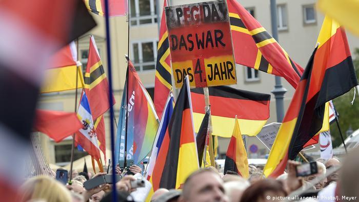 Dresden | Pegida Demonstration