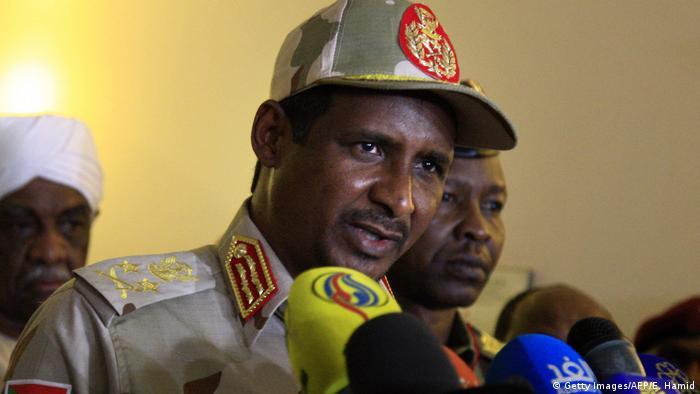 Sudan Khartoum | Sudans Stellvertretender Leiter des Militärrats - Mohamed Hamdan Dagalo