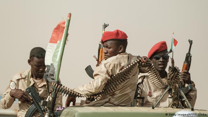 Войска быстрого реагирования в Судане