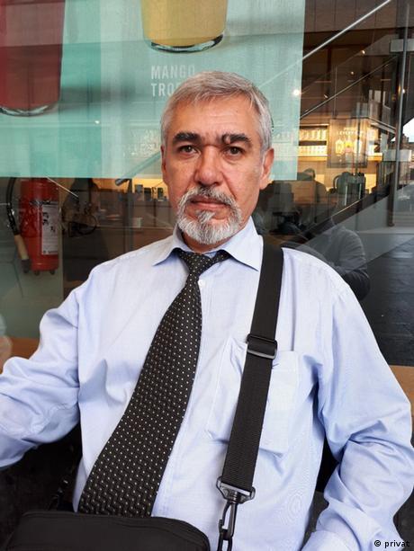 Temur Warki, Journalist aus Tadschikistan