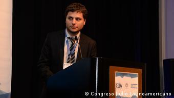 Ariel Seidle - Leiter der Programm-Abteilung/Web-Observatorium des Lateinamerikanischen Jüdischen Kongresses in Buenos Aires