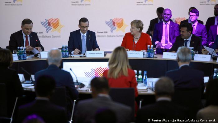 Під час конференції щодо європерспектив країн Західних Балкан