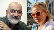 Bildkombo Türkei Journalisten Ahmet Altan & Nazli Ilicak