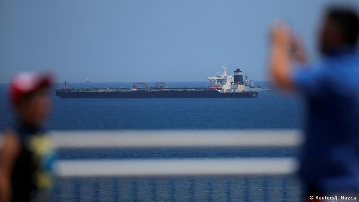 Supertanker Grace 1 | festgesetzt in der Nähe von Gibraltar