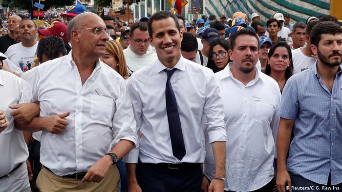 Хуан Гуайдо під час святкування Дня незалежності Венесуели