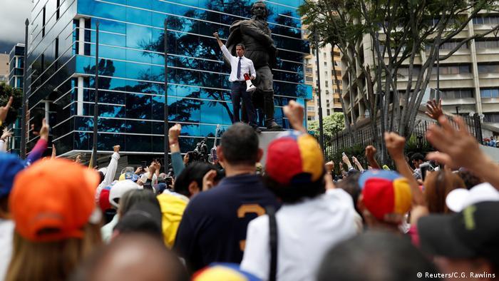 Juan Guaido at his speech July 5 in Caracas