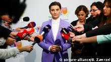 Polen - Ana Brnabic, Premierminister von Serbien auf dem Westbalkan-Gipfel