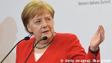 Polen, Angela Merkel auf dem Westbalkan-Gipfel