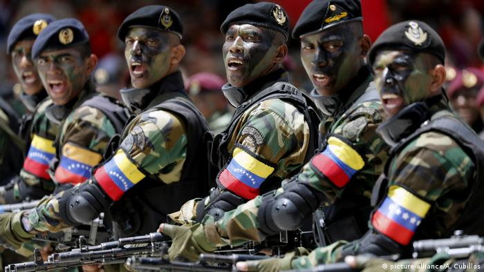 Despite a slew of defections, Venezuela's military continues to back Maduro