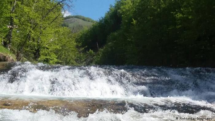 Bukovica Fluss in Montenegro