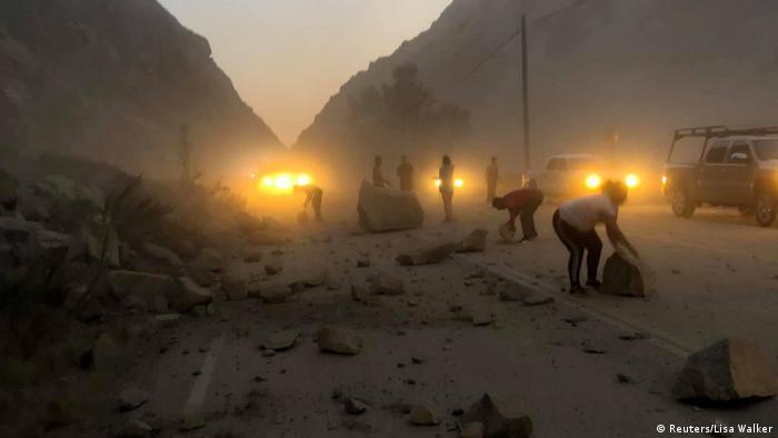 USA Erdbeben (Reuters/Lisa Walker)