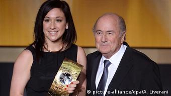 Nadine Kessler was named the best women's player in the world back in 2014