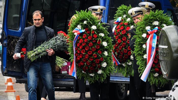 Похороны погибших моряков-подводников, 6 июля 2019