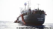 Rettungsschiff Alan Kurdi rettet Flüchtlinge vor Libyen