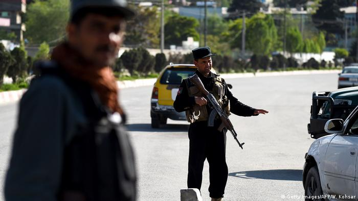 Afghanistan Sicherheitskräfte in Kabul