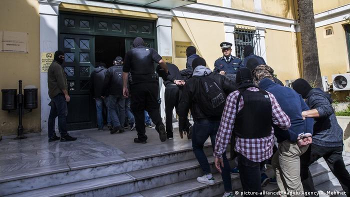 Proces sądowy członków Combat 18 w Atenach