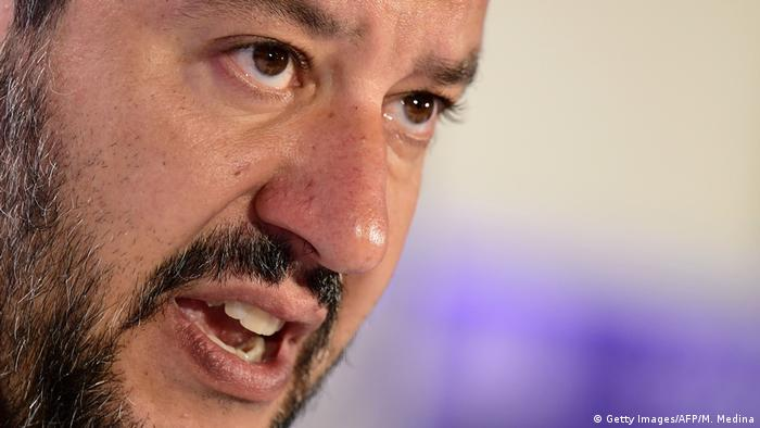 Matteo Salvini, líder do partido de extrema direita Liga