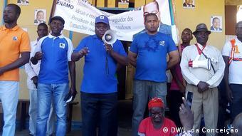 Mosambik Protest von RENAMO in Inhambane