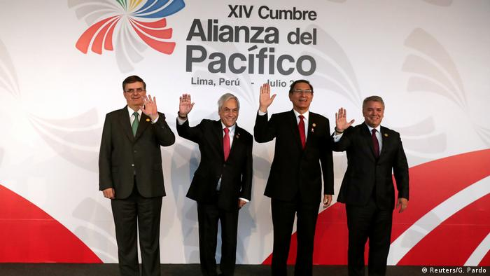 Peru Gipfel Pazifik-Allianz in Lima (Reuters/G. Pardo)
