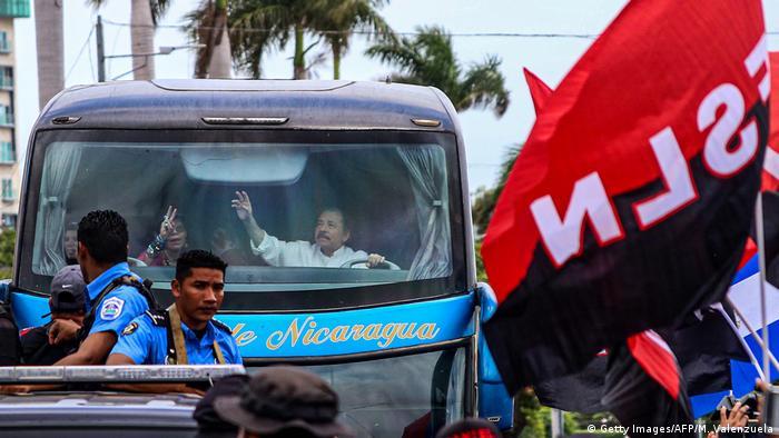 Nicaragua Jahrestag 40 Jahre Revolution   Daniel Ortega, Präsident