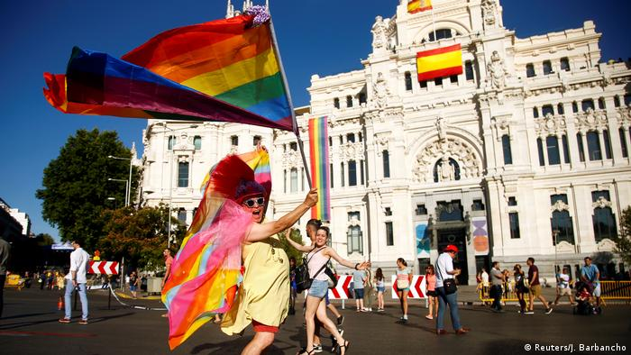 Spanien Gay Pride in Madrid (Reuters/J. Barbancho)