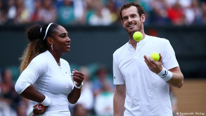 Wimbledon 2019 | Serena Williams & Andy Murray (Reuters/H. McKay)