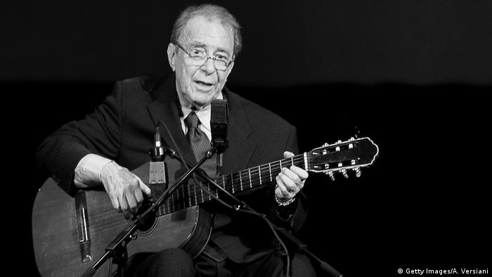 Brasilianischer Musiker Joao Gilberto (Getty Images/A. Versiani)