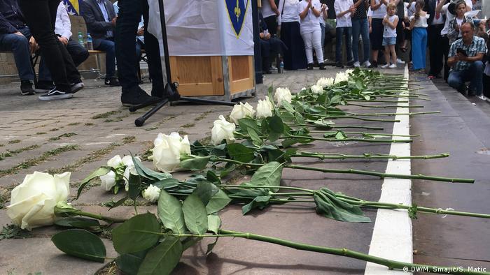 Schweigemarsch in Dortmund für die Opfer vom Srebrenica