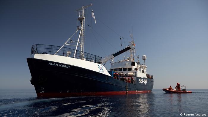 The Alan Kurdi operated by German NGO Sea-Eye