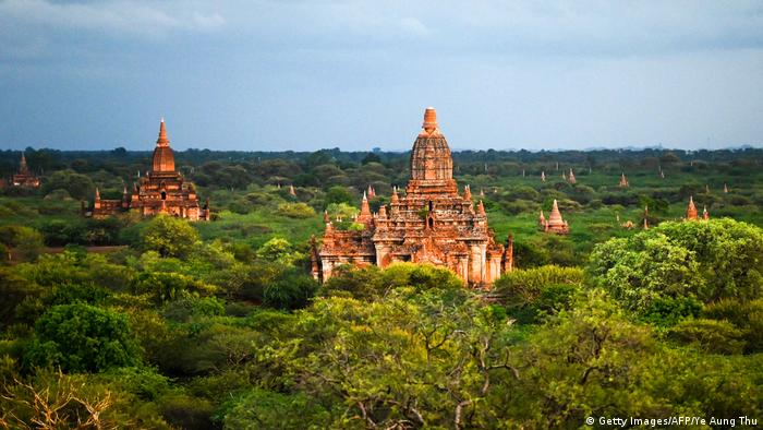 BdTD Myanmar Pagoden in Bagan (Getty Images/AFP/Ye Aung Thu)