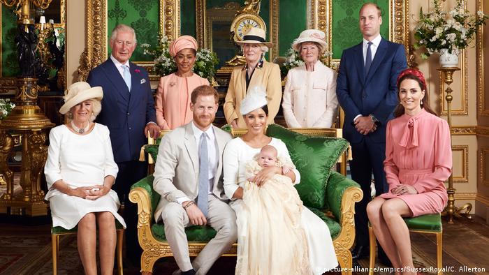 England Taufe Royal Baby
