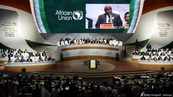 African Union summit in Niger on July 7, 2019