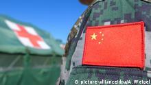 Chinesische Sanitätssoldaten üben in Deutschland