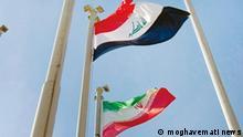 Titel: Iran und Irak's Flaggen Schlagwörter: Iran, Irak, Flagge Rechte: moghavemati news