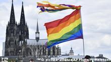 Deutschland Christopher Street Day 2019 in Köln