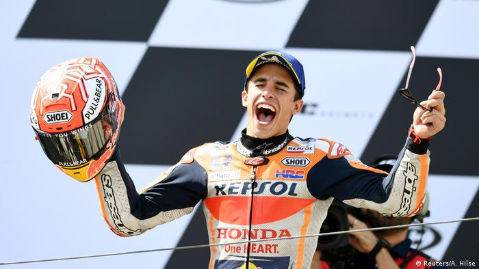 MotoGP - German Grand Prix | Marc Márquez, Sieger (Reuters/A. Hilse)