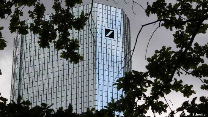 Deutsche Bank's headquarters in Frankfurt