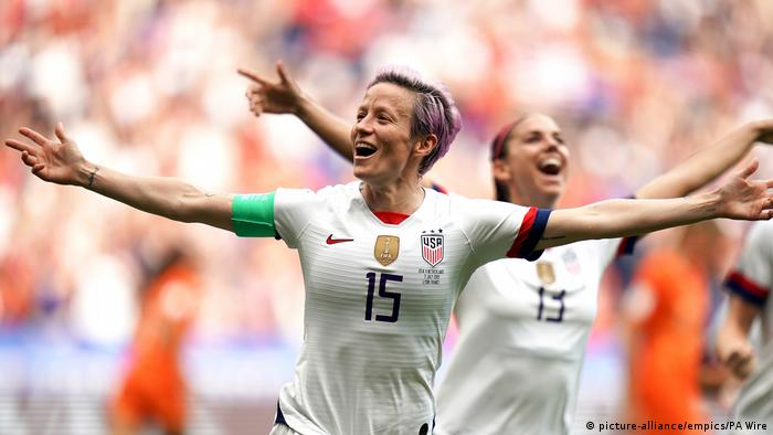 Megan Rapinoe was one of the stars of World Cup 2019