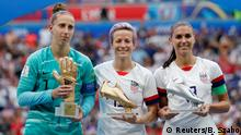 FIFA Frauen-WM 2019 Finale   USA vs. Niederlande   van Veenendaal & Rapinoe & Morgan
