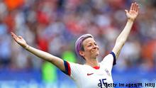 Megan Rapinoe of the US women's national soccer team