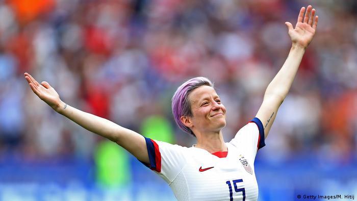 Megan Rapinoe of the US women's national soccer team