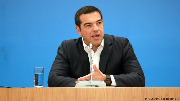Parlamentswahl in Griechenland 2019 | Alexis Tsipras, Premierminister (Reuters/A. Konstantinidis)