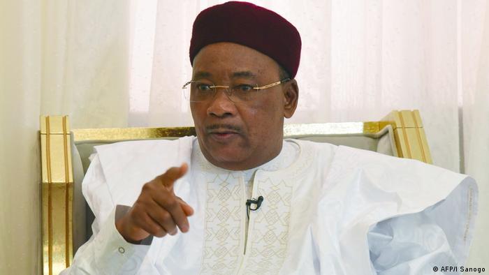 Niger Treffen der afrikanischen Union in Niamey - Mahamadou Issoufou
