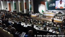 Niger Treffen der afrikanischen Union in Niamey