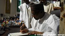 Niger Treffen der afrikanischen Union in Niamey - Muhammadu Buhari