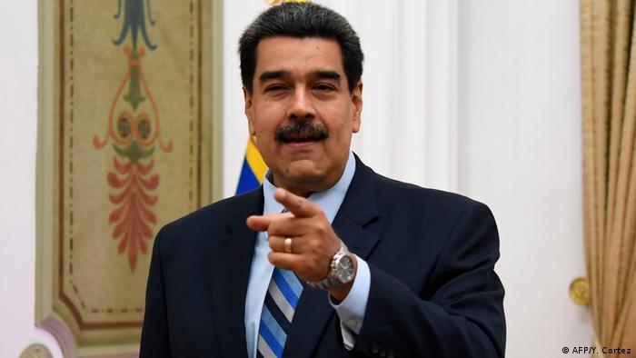 Venezuela Präsident Nicolas Maduro in Caracas